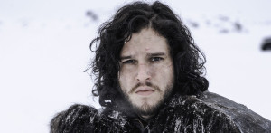 Jon Snow making that face.